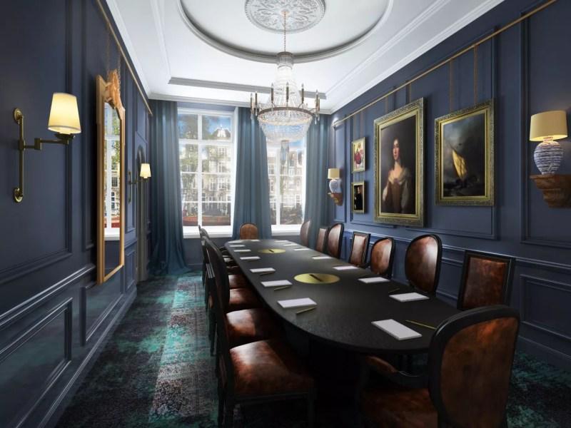 Interieur   Sierlijsten als wanddecoratie: dé klassieke touch aan jouw interieur!   Foto: Wanddecoratie Pulitzer Het Schippertje