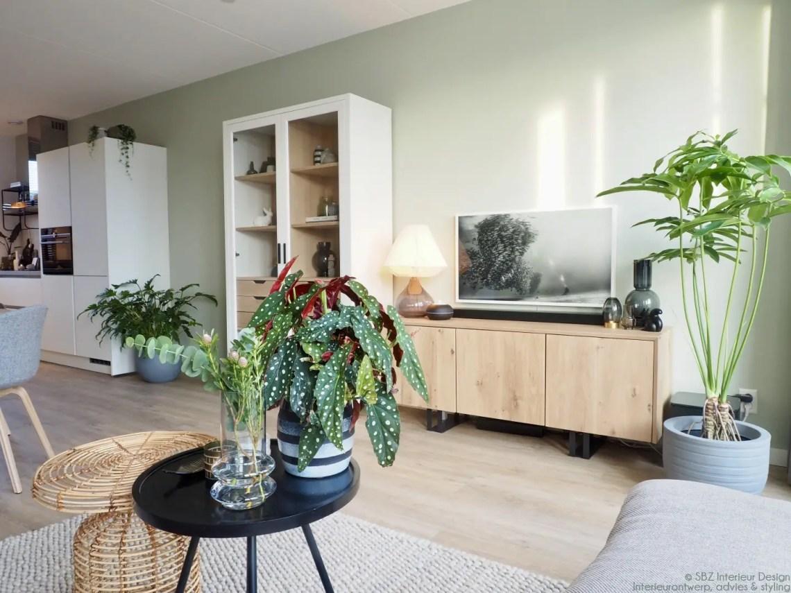 Woonkamer inrichten - tv meubel - Interieur project: SBZ Interieur Design - interieurontwerp, advies en styling