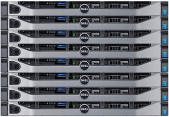 poweredge r430 1u rackmount servers