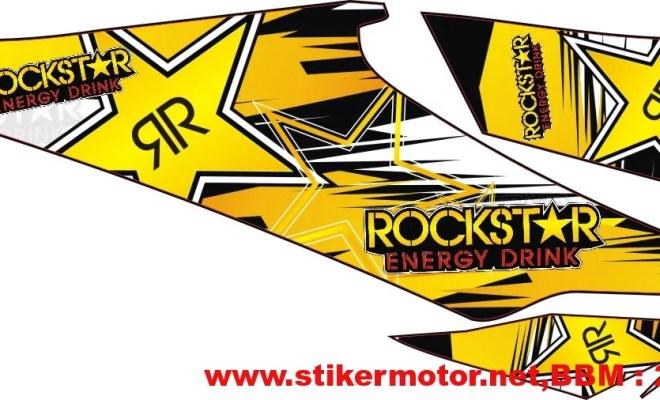striping motor Revo rockstar