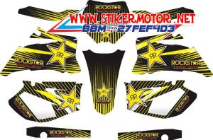 striping motor YAMAHA YZ 250F 2006-2008 rockstar