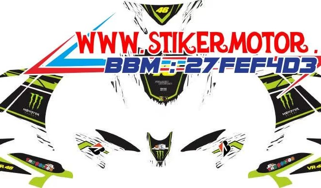 striping motor new mx vr46 monster energy