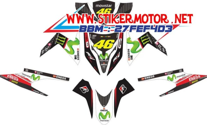 striping motor vario techno movistar