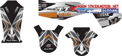 striping motor yamaha rx king troy lee design