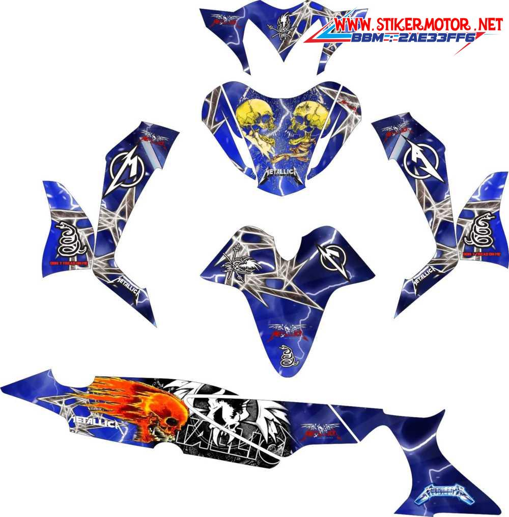 Supra X 125 Archives Page 3 Of 6 Decal Sticker Striping Variasi Fullbody Klx 150 S