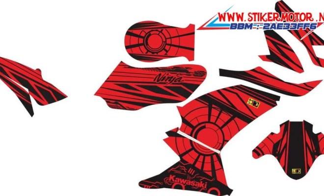 ninja krr 150 sun moon merah