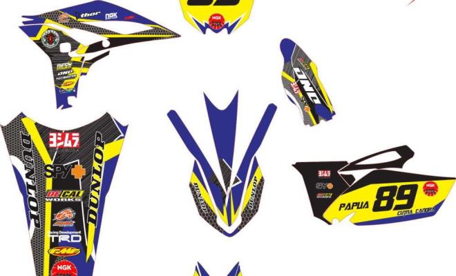 yz 250 decal