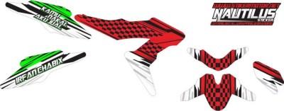 Stiker new sonic racing gp