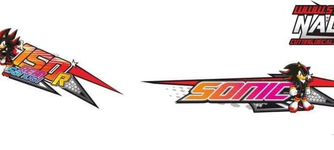 Stiker new sonic thailook sonic