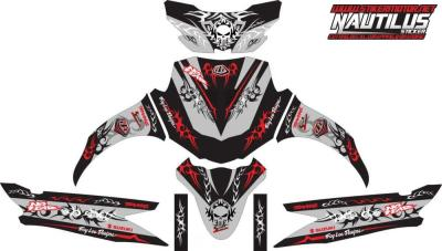 Stiker nex tribal