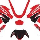 Stiker nmax red sporty