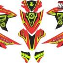 Stiker Motor vario esp 125 racing v2
