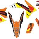 Stiker KTM SX125 redbull