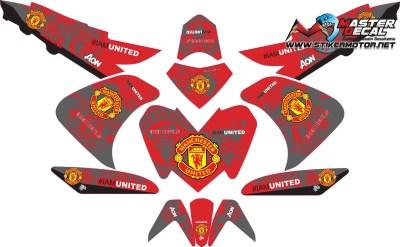 Stiker aerox 125 manchester united