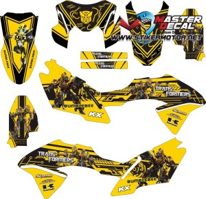 Stiker klx bf transformers bumble bee