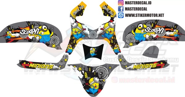 all new scoopy esp minion 3d