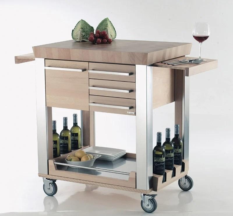 Carrello Cucina Astoria Legnoart