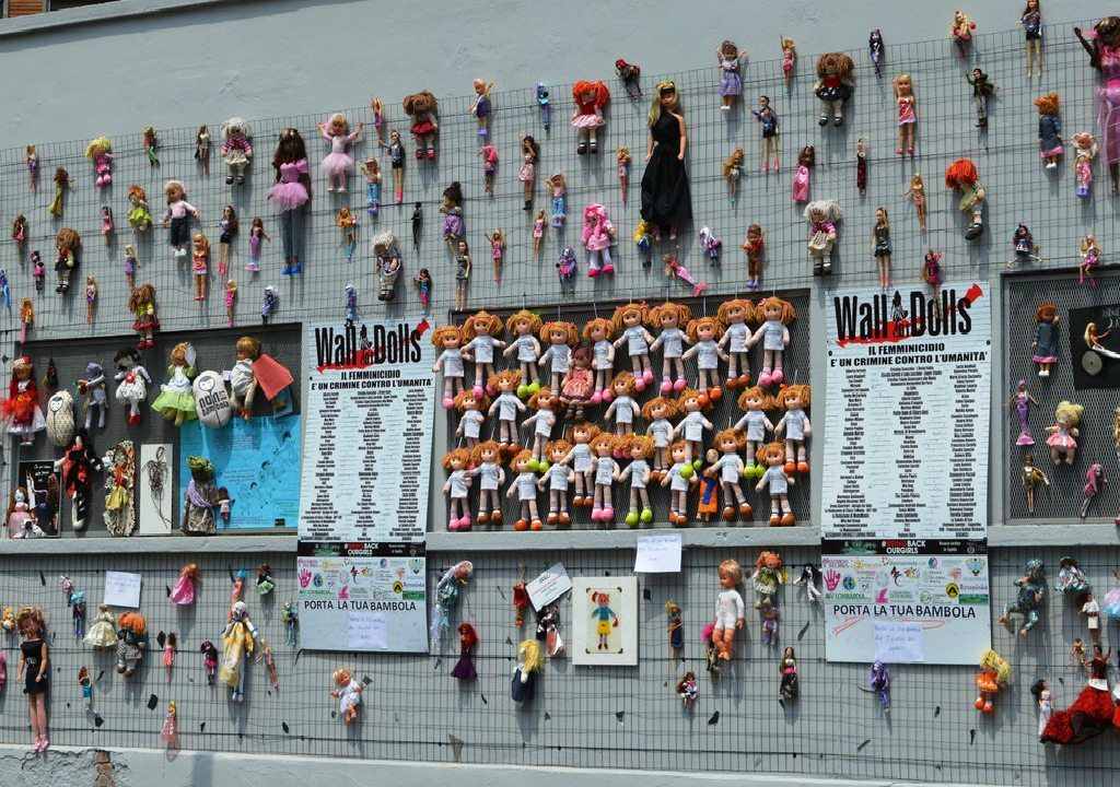 Wall of Dolls, Milano