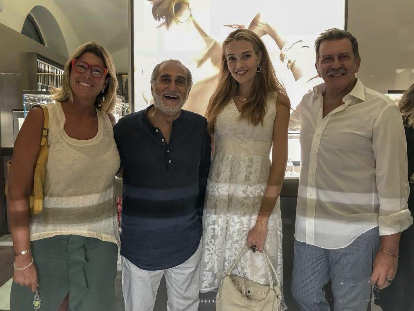 Da sx Roberta Beta, Pino Ammendola, Pilar Abella, Pietro Genuardi