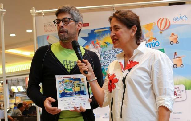 Alessandro Ciafardini e Colette Morin
