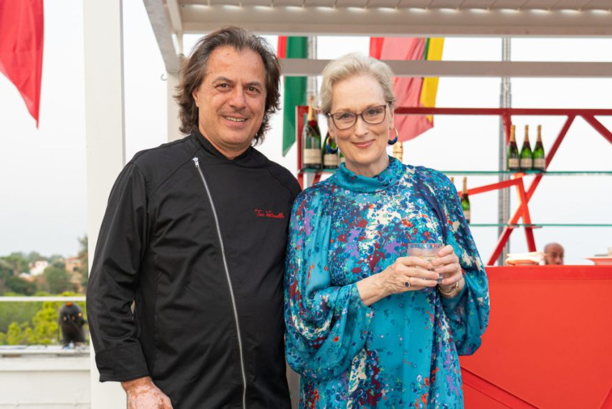 Meryl Streep ospite dello Chef Tino Vettorello