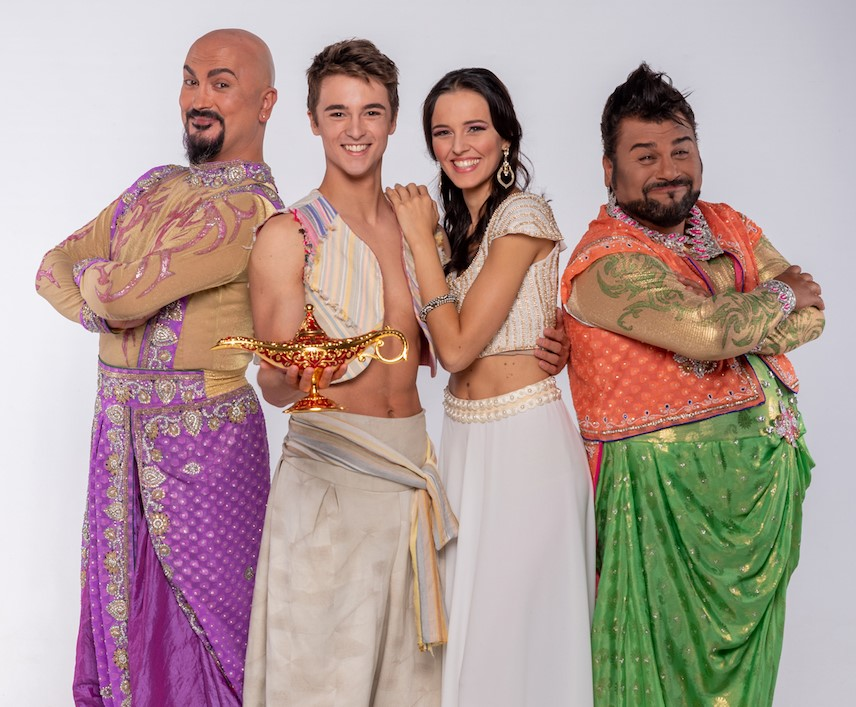 Il cast di Aladin