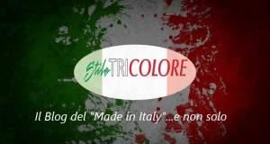 Sfondo logo Stile Tricolore
