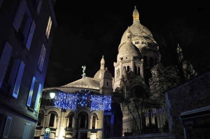Montmartre romántico París
