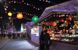 Weihnachtsmarkt Champs Elysées Paris
