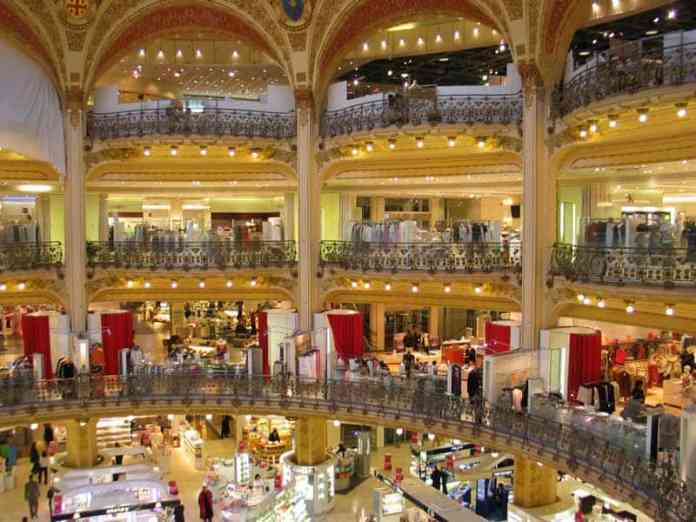 Galerie la Fayette shoppping Center - Paris