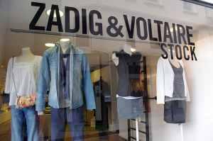 Zadig et Voltaire outlet Paris