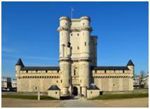 Vincennes Chateau at Paris