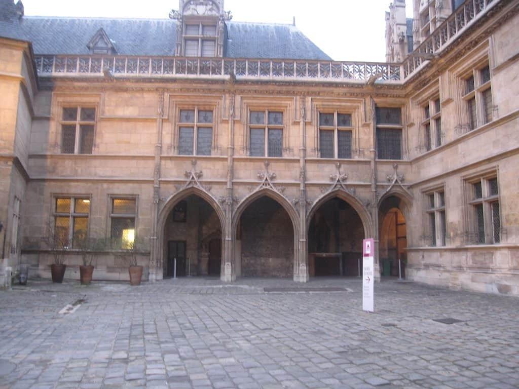 Middle Age Museum in Paris Latin quarter