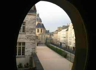 Marais district in Paris