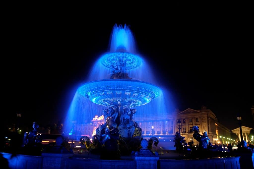 Nuit Blanche-White Night in October in Paris