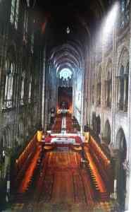Notre Dame de Paris choir and nave