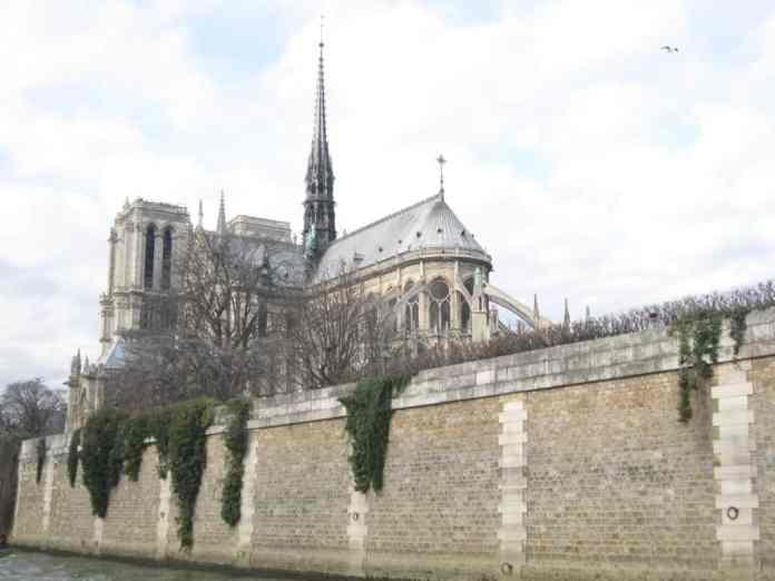 Notre Kathedraal in Parijs - cité Island