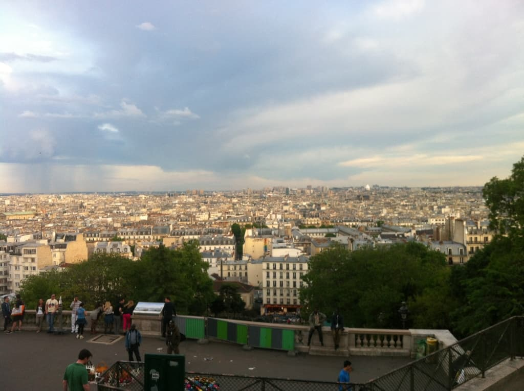 View of Paris from Sacre Coeur