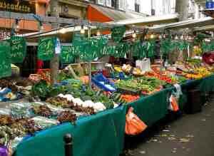 Sunday Food Market in Paris