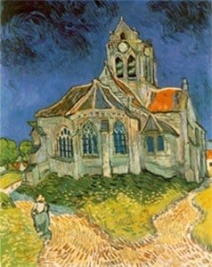 Auvers sur Oise Church by Van Gaogh