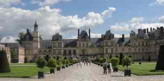 Château Fontainebleau - Cour Ovale