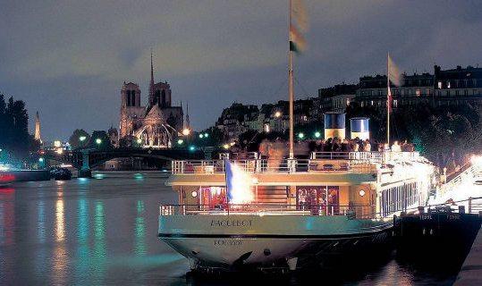 Yacht de Paris VIP crucero de Año Nuevo
