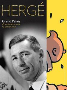 Exhibit Hergé at Grand Palais - Paris