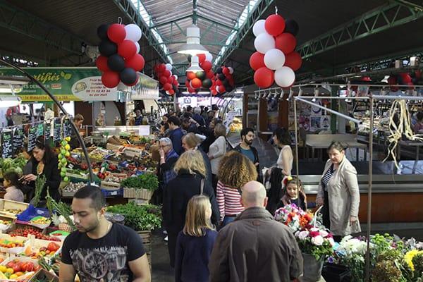 Marché des Enfants Rouges food Market