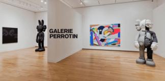 Galería de arte Perrotin - París