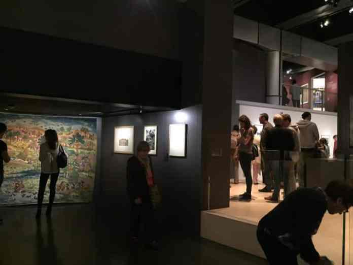 Exhibition at the Arab World Institute in Paris