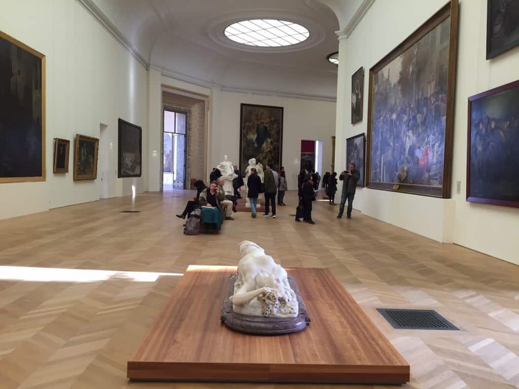Das Petit-Palais Museum der Schönen Künste - Paris