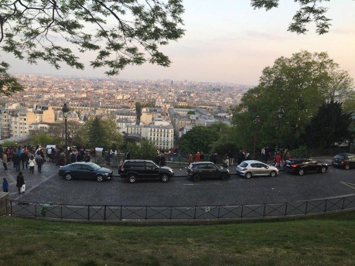몽마르트에서 보이는 파리 전경 - 4~5일간의 파리 여행