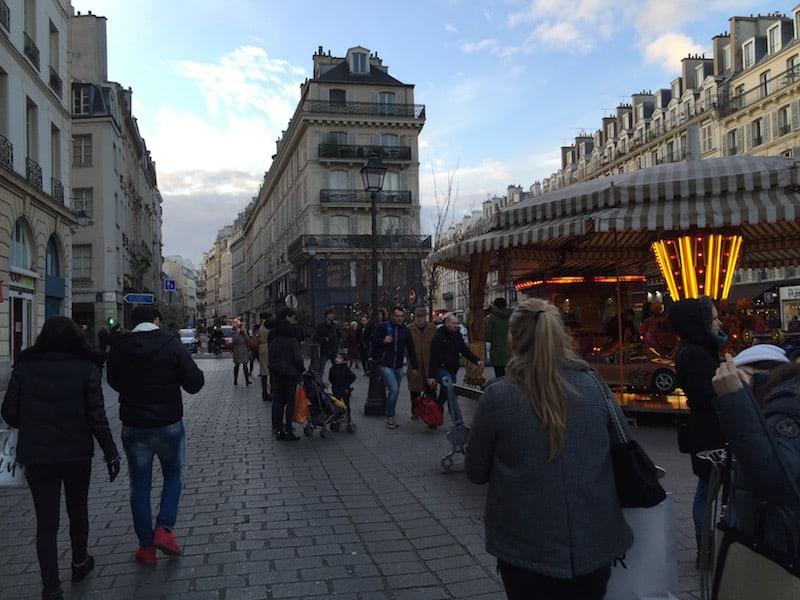 Das Marais Viertel in Paris