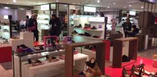 Women Shoe Store at BHV Paris